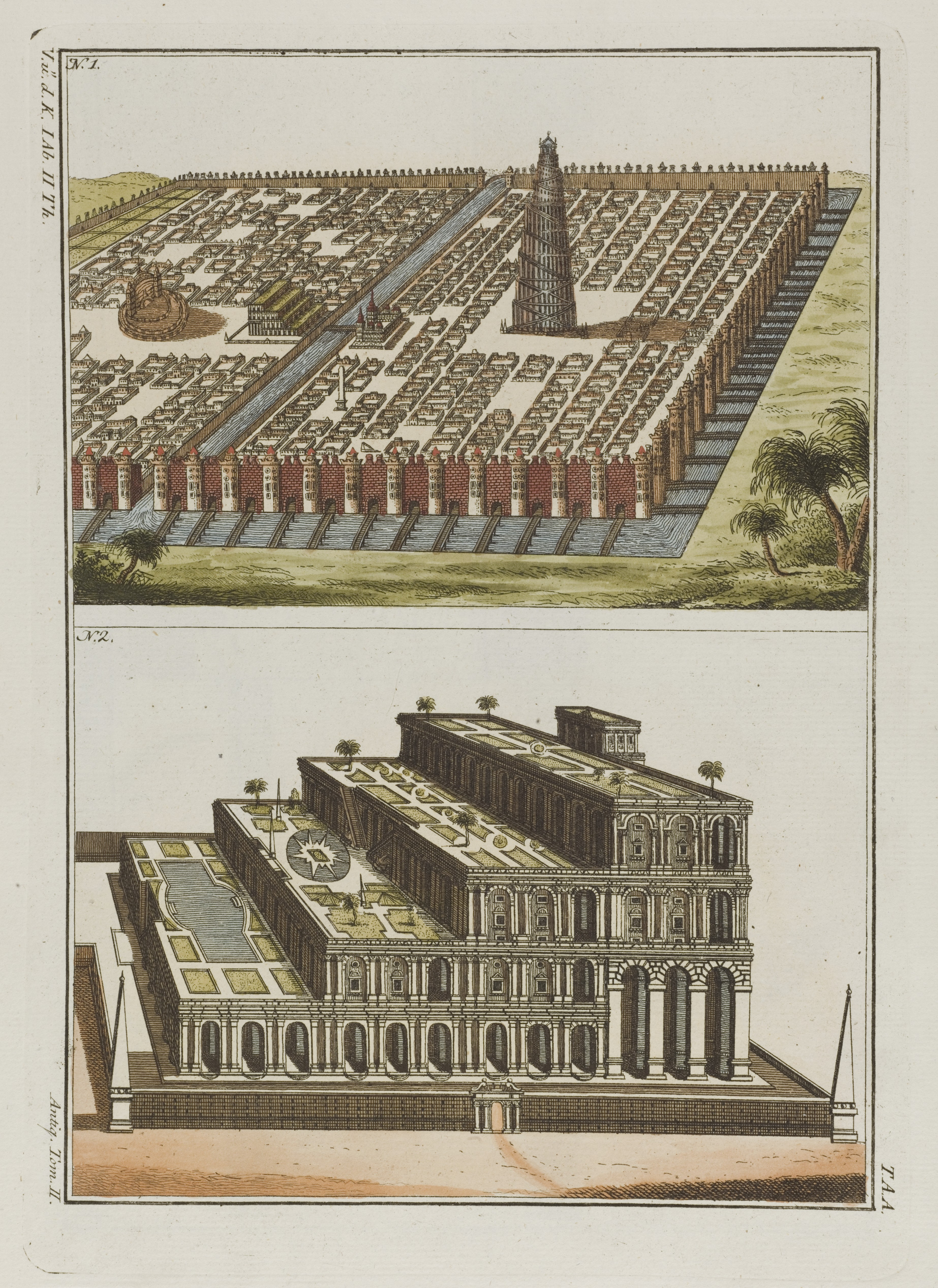File Babylon The City Above The Hanging Gardens Of Babylon Wellcome Wikimedia