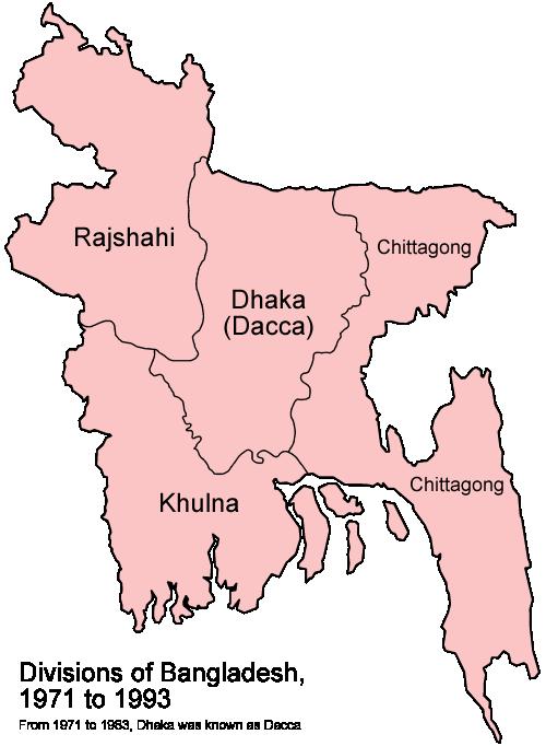 Bangladesh Division From Pakistan File:bangladesh Divisions