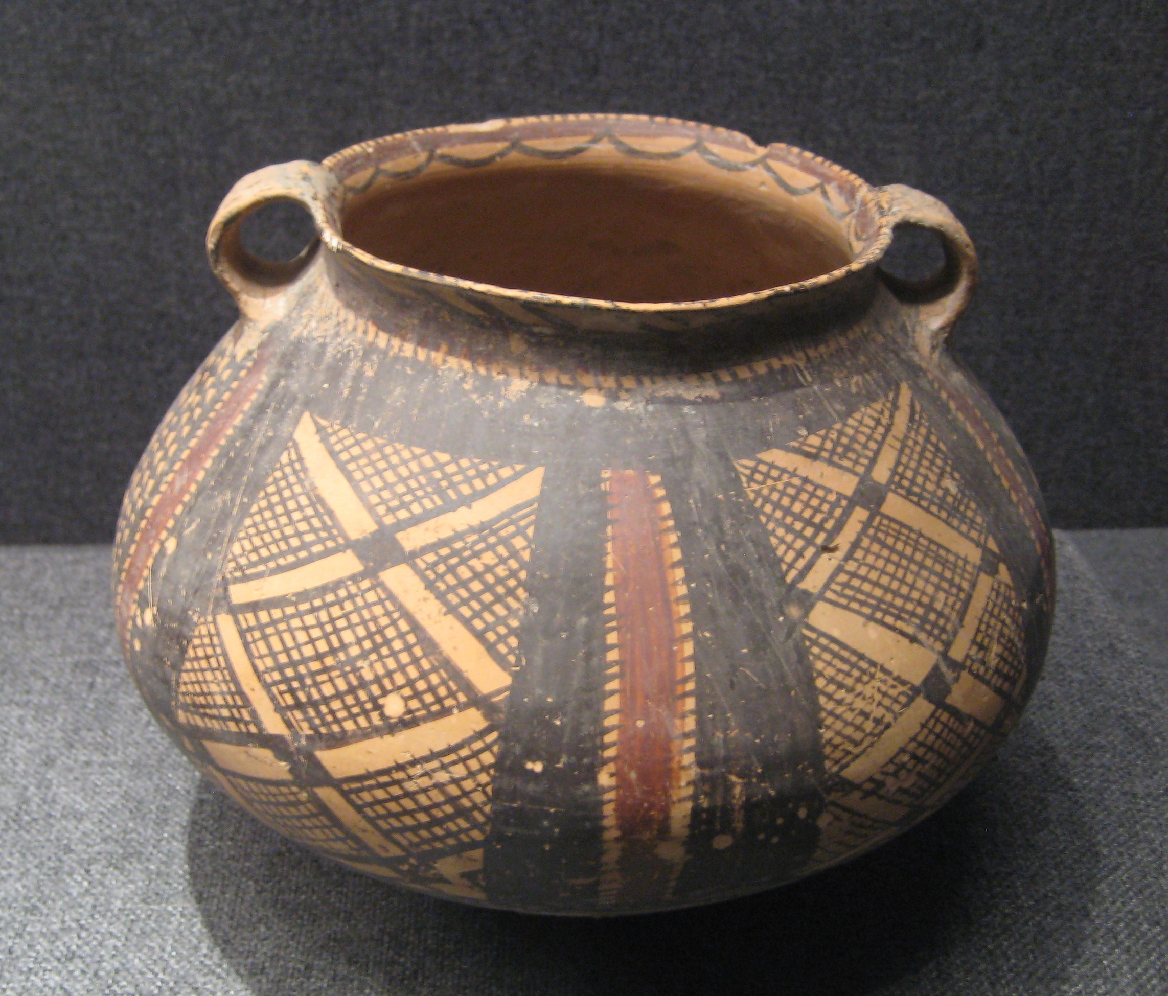 Http Commons Wikimedia Org Wiki File Banshan Painted Pottery Pot 1 Jpg