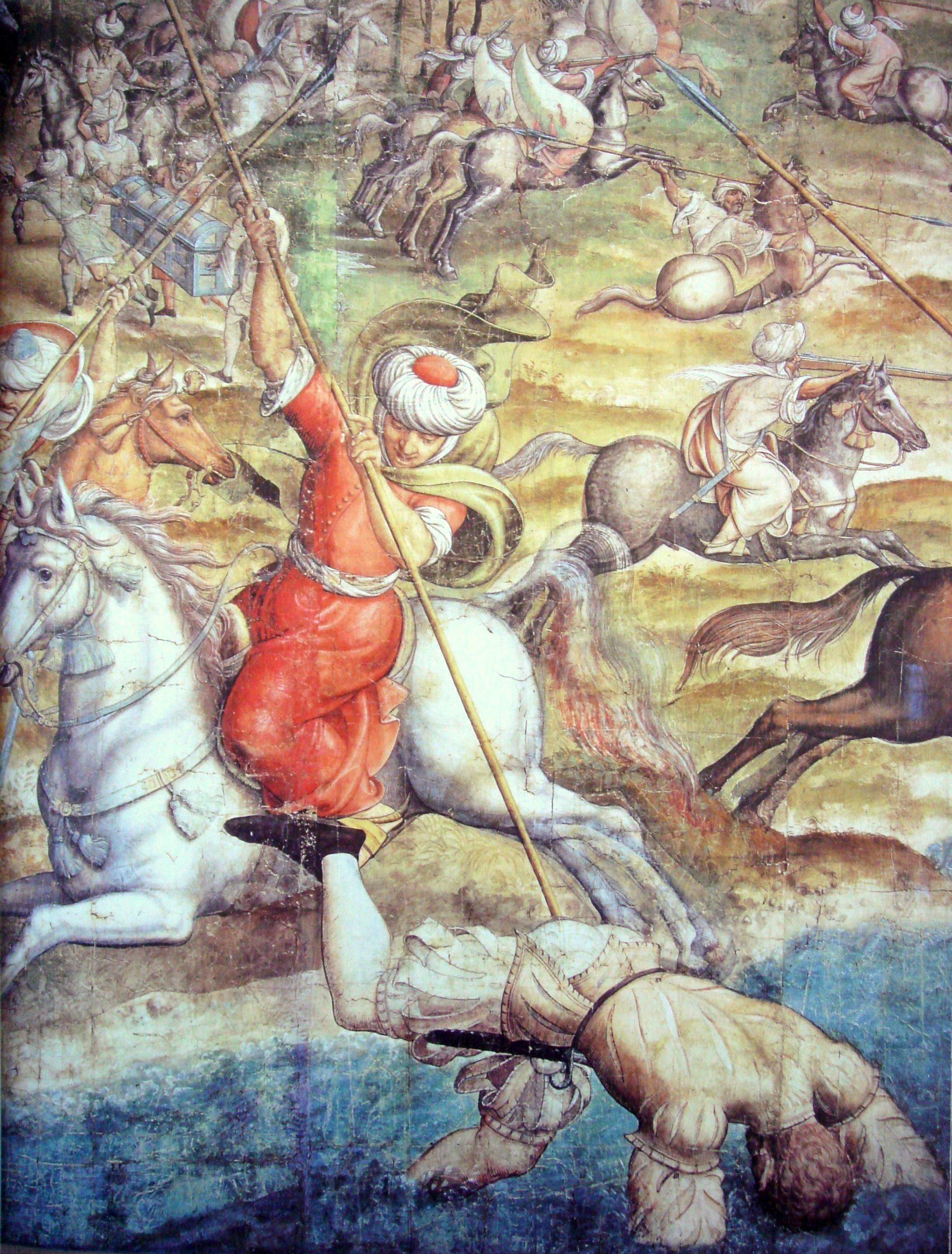 File:Battle of Tunis 1535 Charles V vs Barbarossa.jpg
