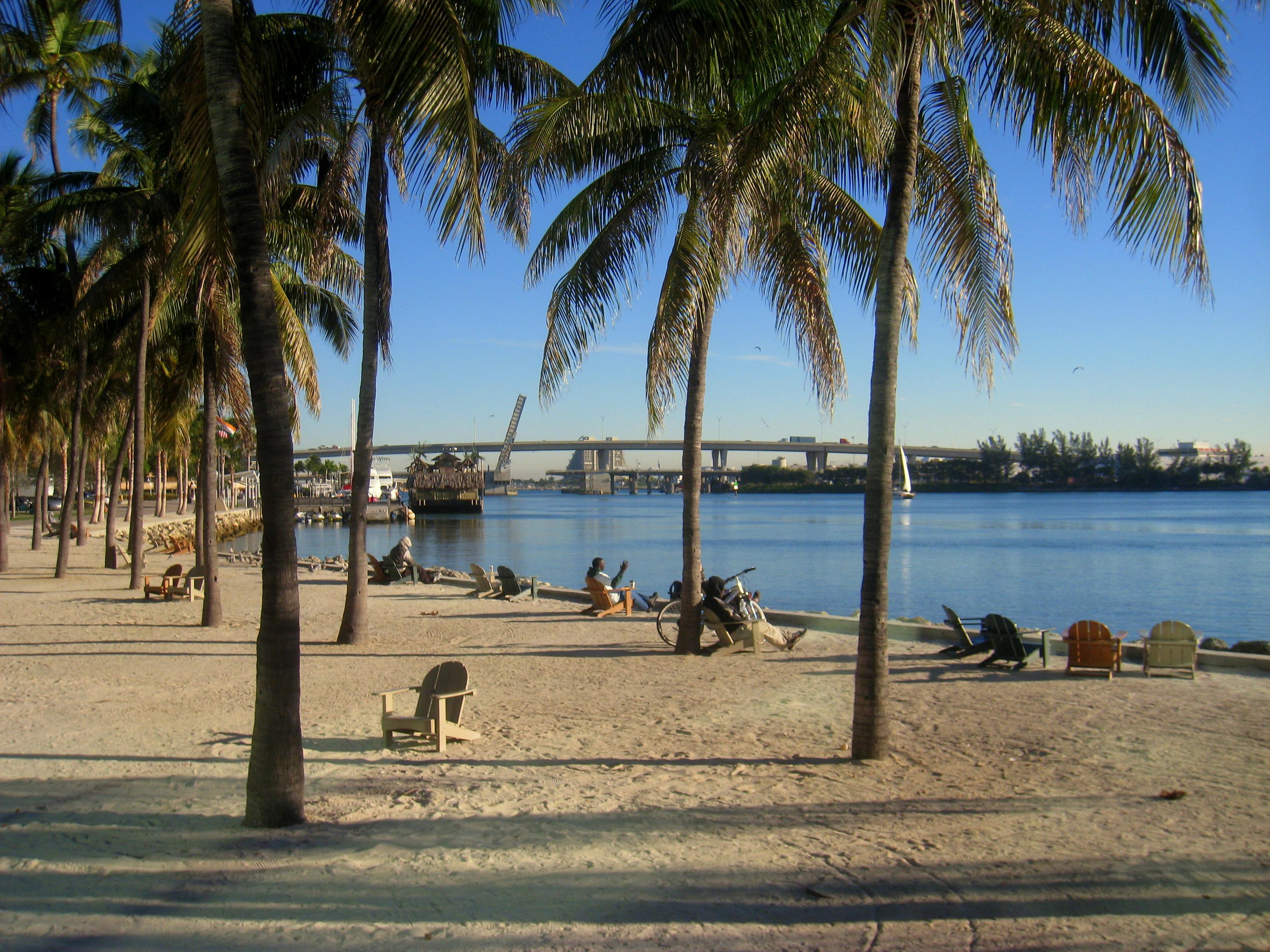 Bayfront Park Beach Miami