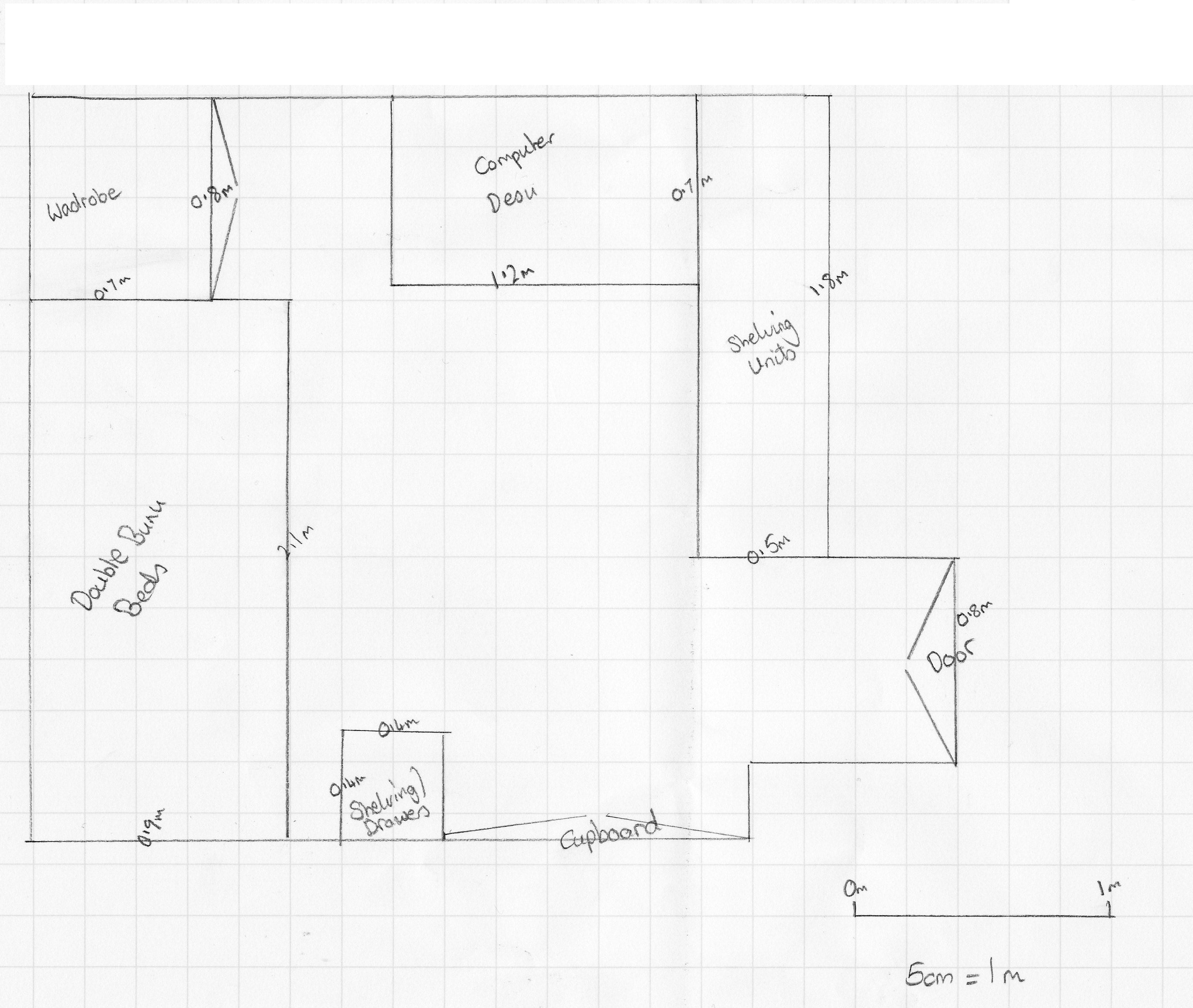 Collection of drawing floor plans by hand outstanding for Floor plan sketch