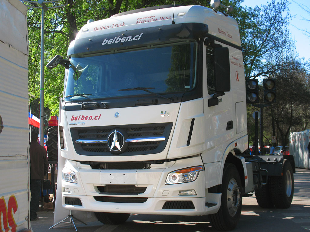 Beiben truck wikipedia for Mercedes benz truck parts