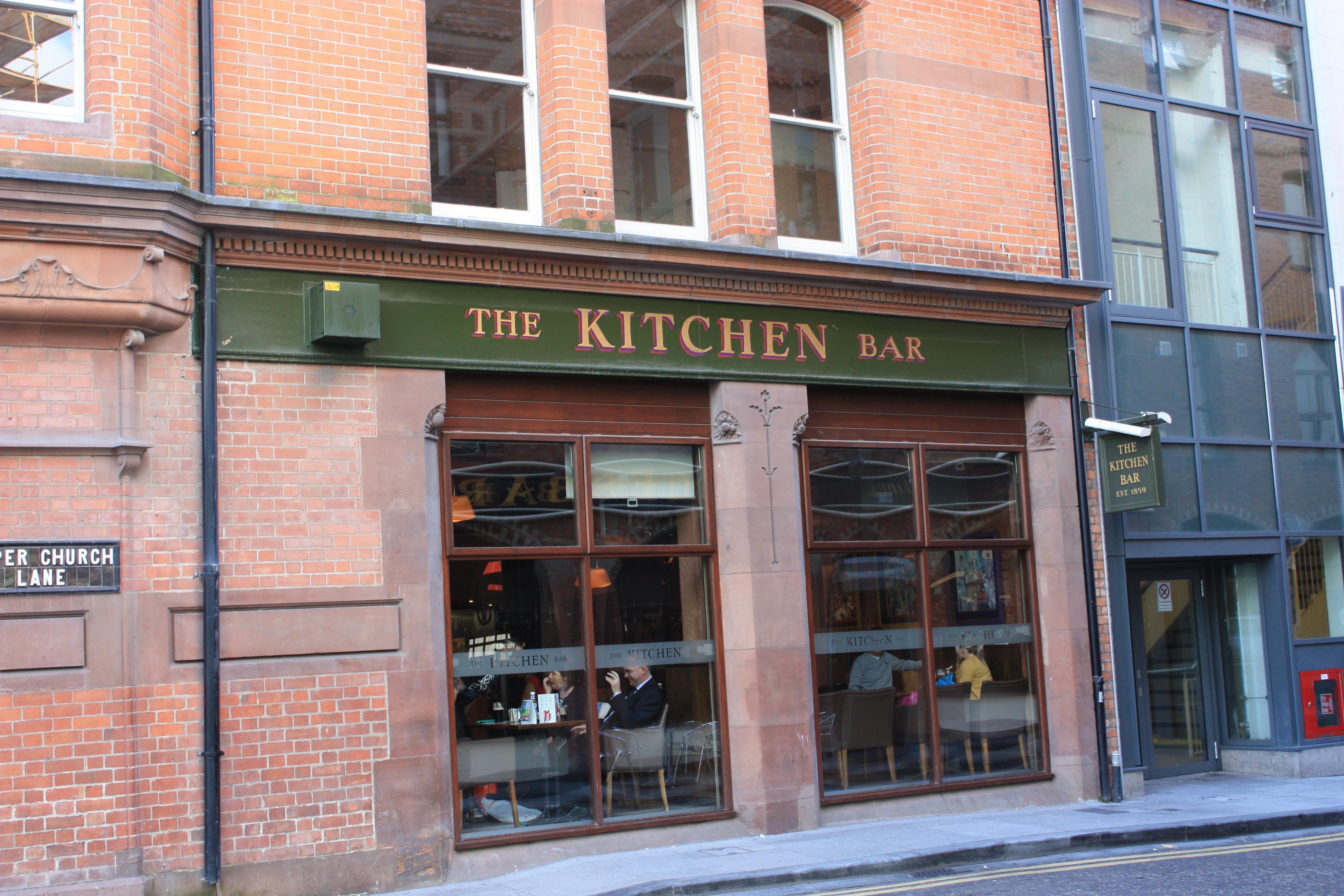Kitchen Bar Belfast Facebook