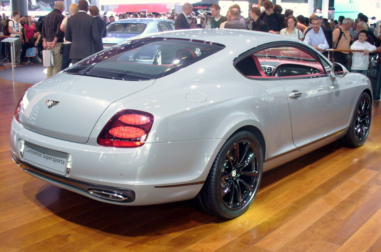 File:Bentley Continental GT Supersports Heck.JPG ...