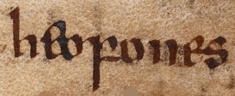 """heofones,"" an ancient Anglo-Saxon word for heavens in the Beowulf"