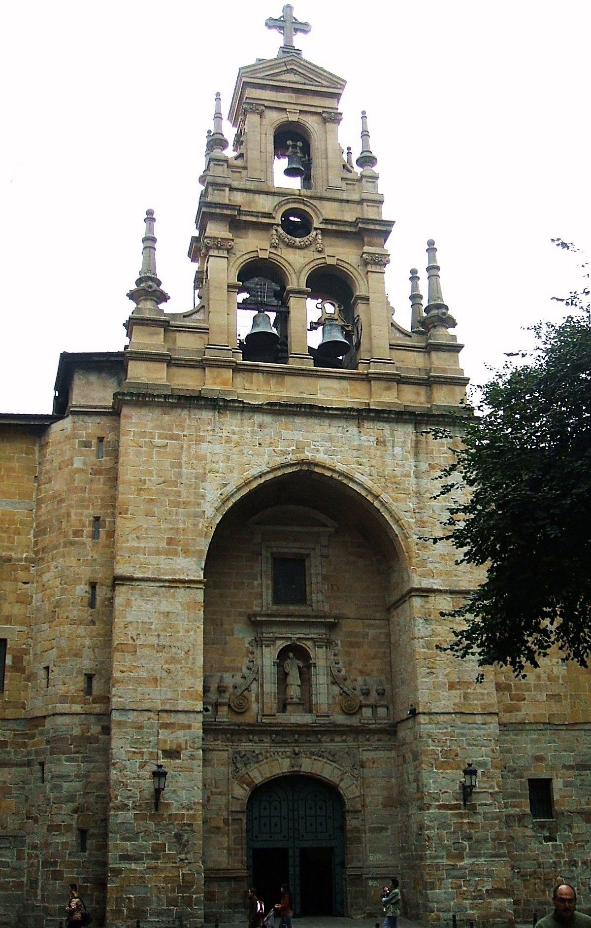 Iglesia De San Vicente De Abando Wikipedia La Enciclopedia Libre