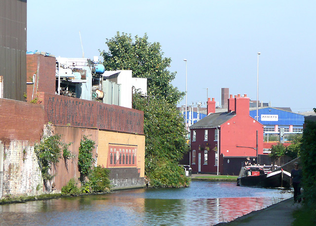 Birmingham and Fazeley Canal, Aston - geograph.org.uk - 996337