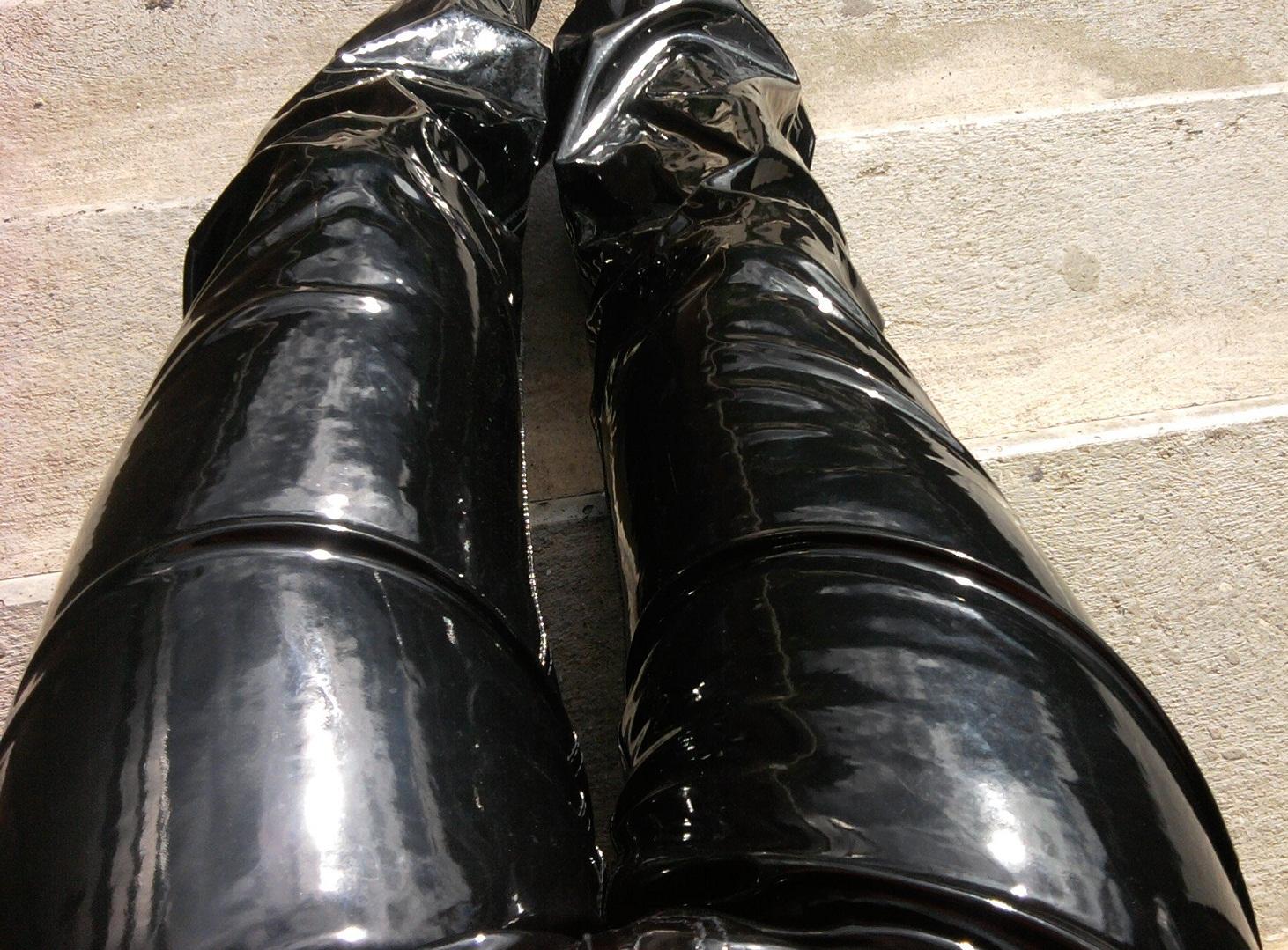 Mens Black Patent Leather Tuxedo Shoes