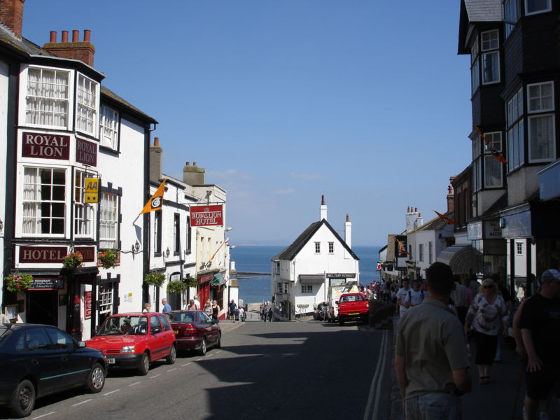Bell Cliff Restaurant And Tea Room Lyme Regis