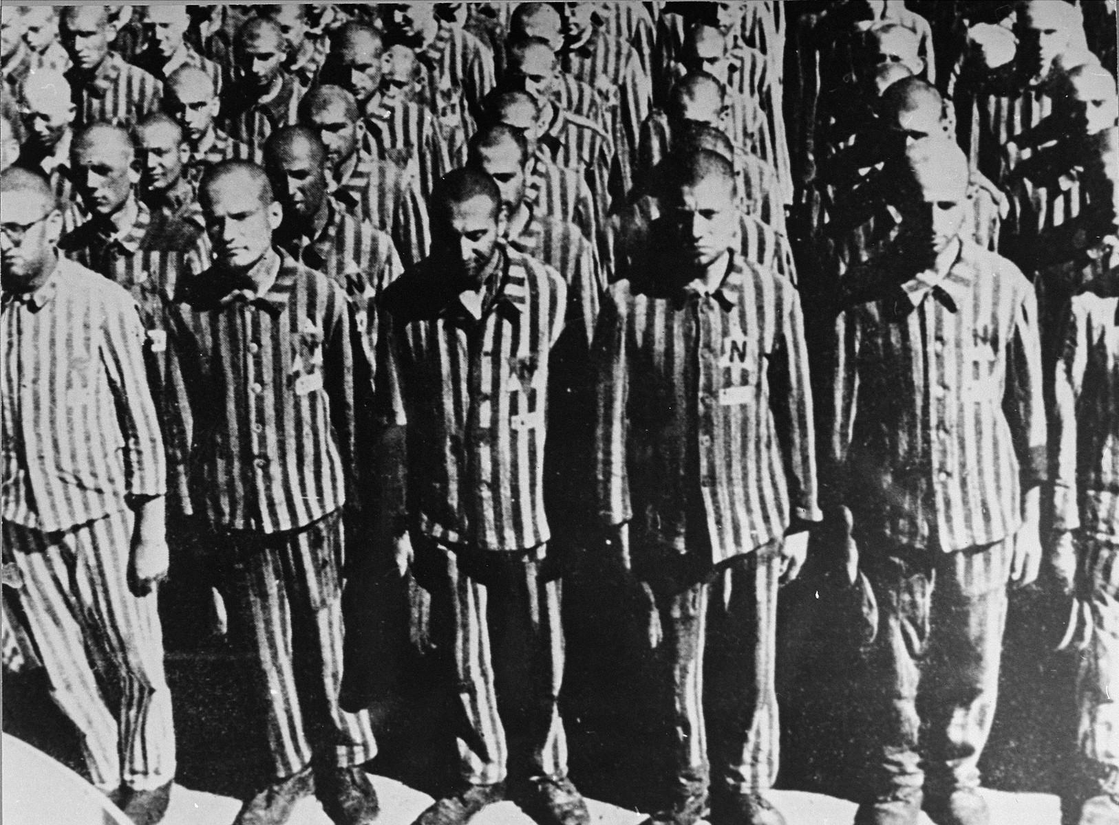 홀로코스트 유대인 수용자들