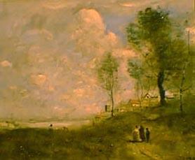 Ville d'Avray (Paysage et figures)