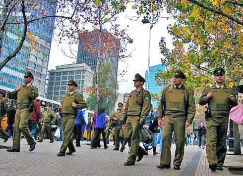 Image result for seguridad chile