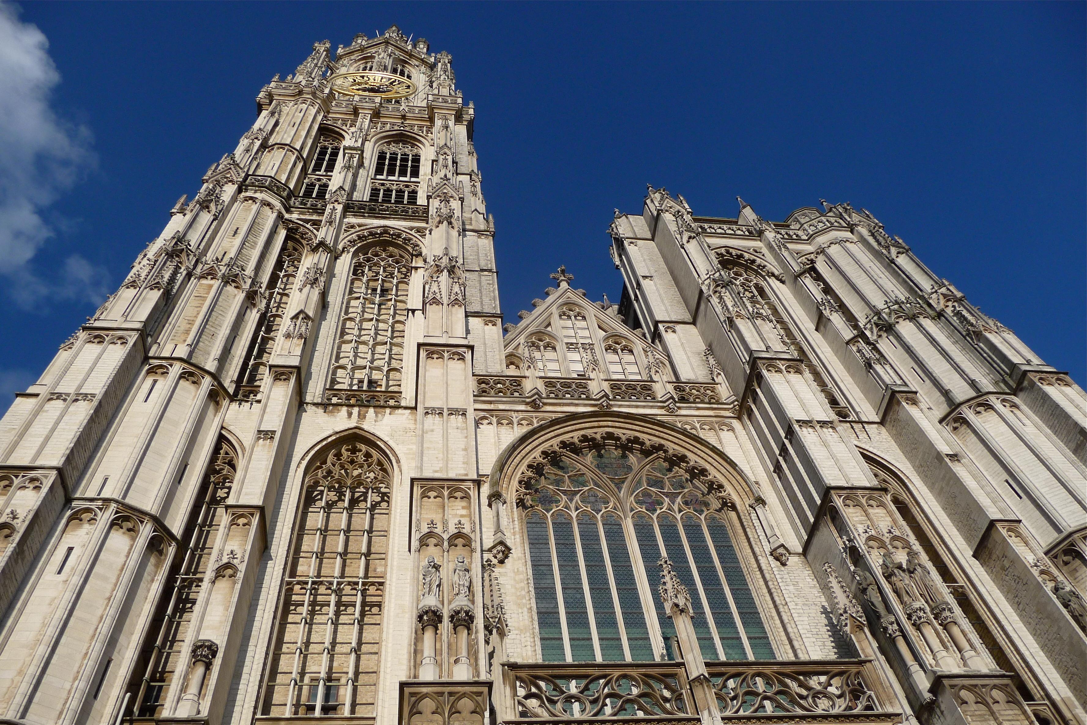 Belgija Cathedral-Antwerp