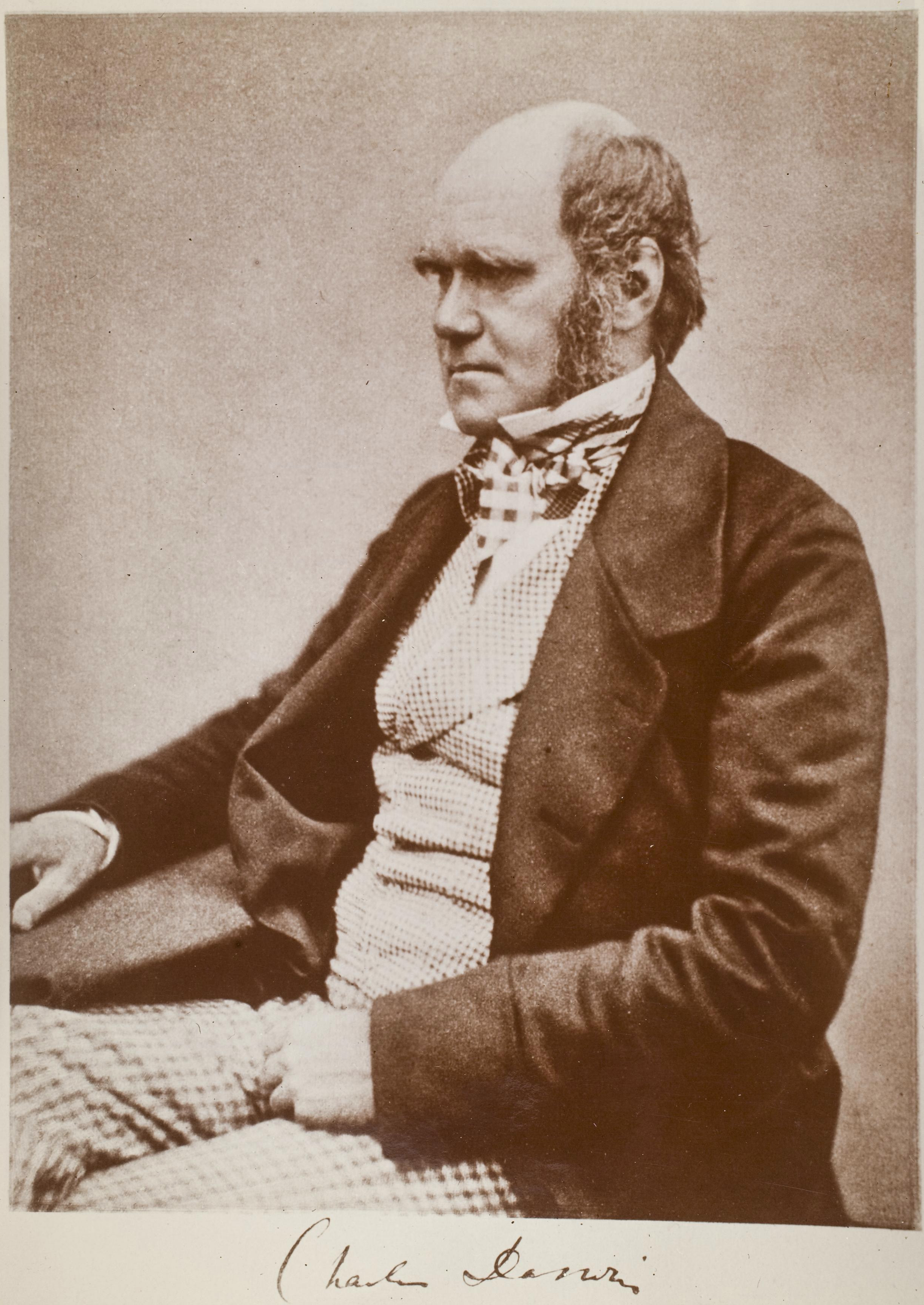 Account of the life of the genius charles darwin