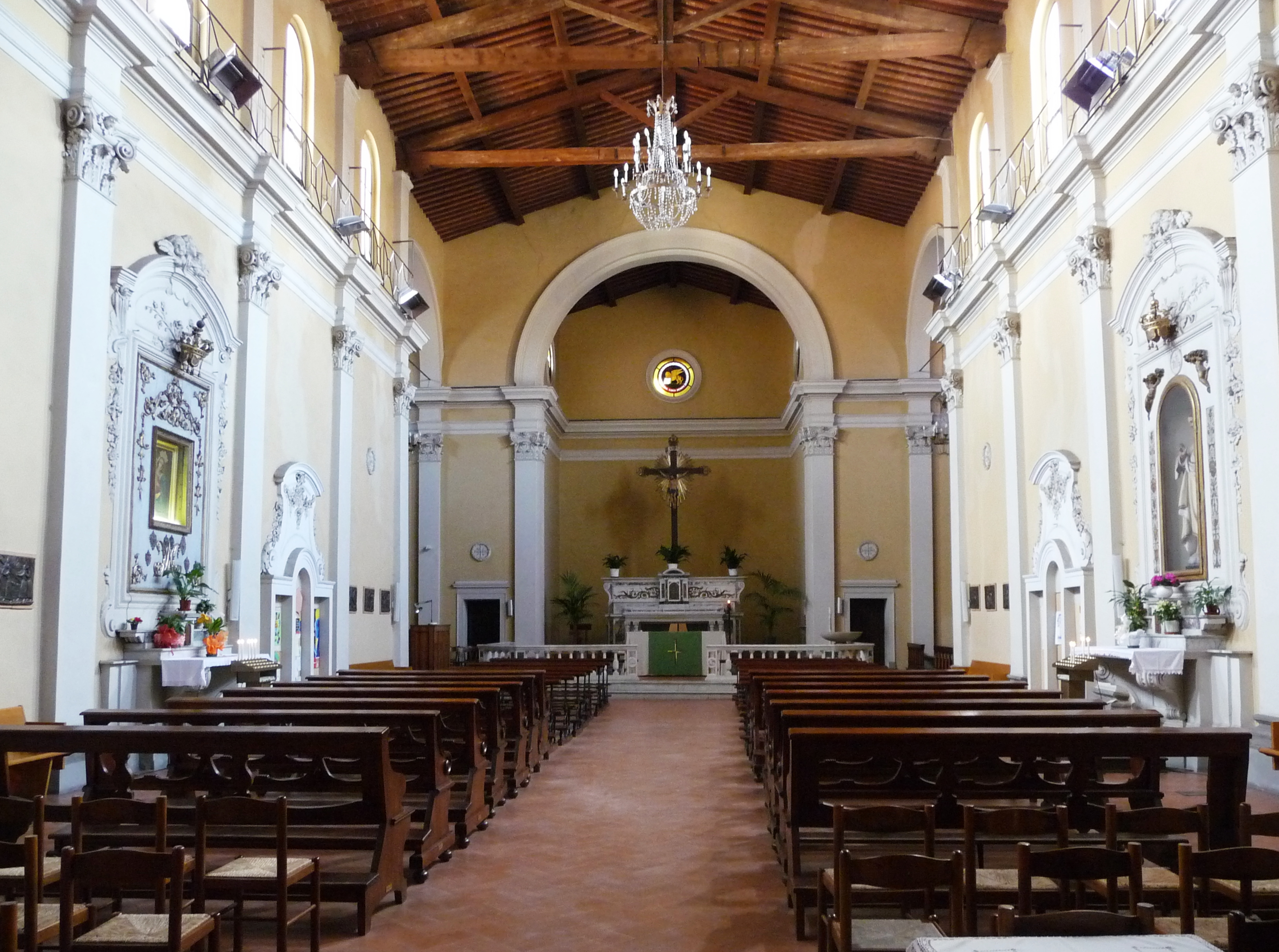 File Chiesa San Marco Alle Cappelle Interno Pisa Jpg
