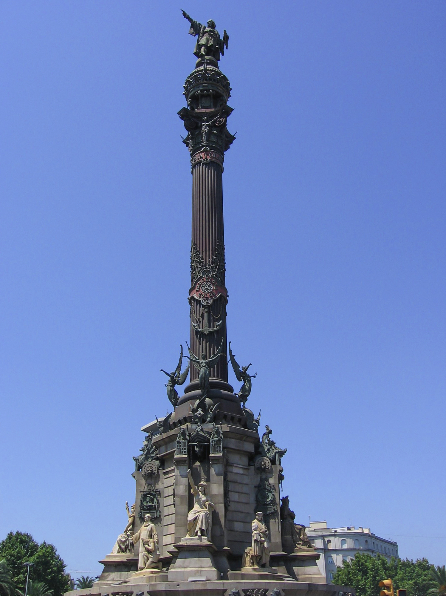 Monumento A Colón Barcelona Wikipedia La Enciclopedia Libre