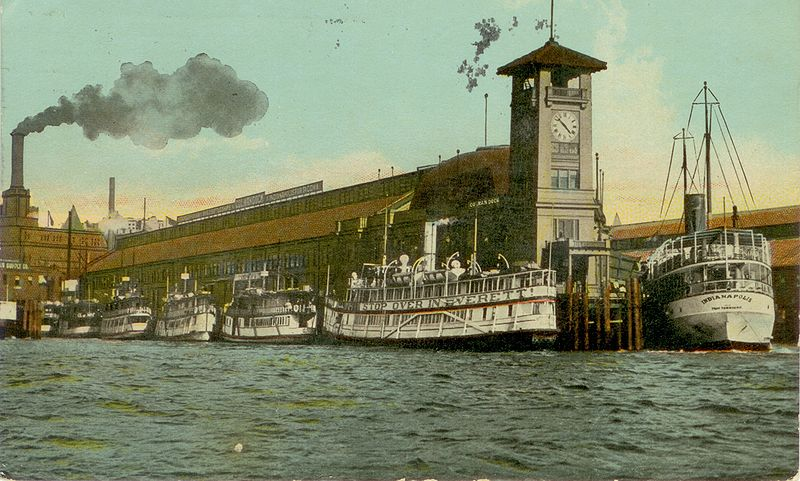 Puget Sound mosquito fleet - Wikipedia