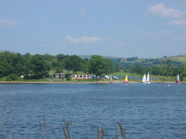 Combs Reservoir Sailing Club - geograph.org.uk - 25468