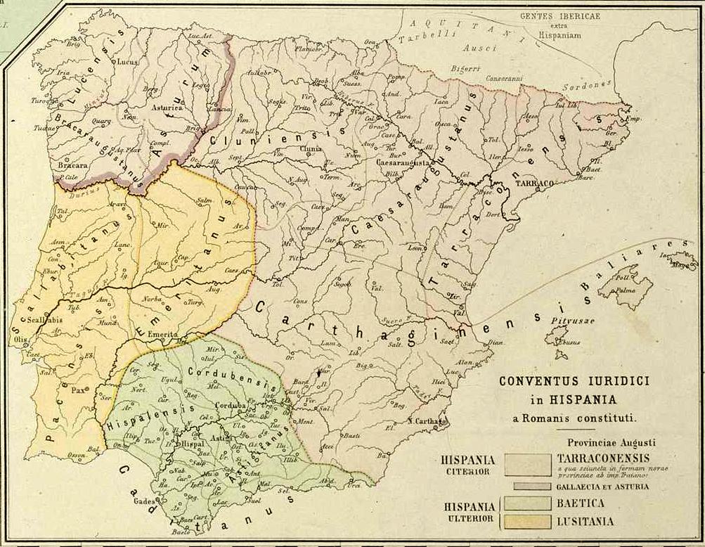 Hispania Nova Citerior Antoniniana - Wikipedia, la enciclopedia libre