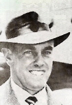 Ian Johnson with the Australian cricket team in England in 1948