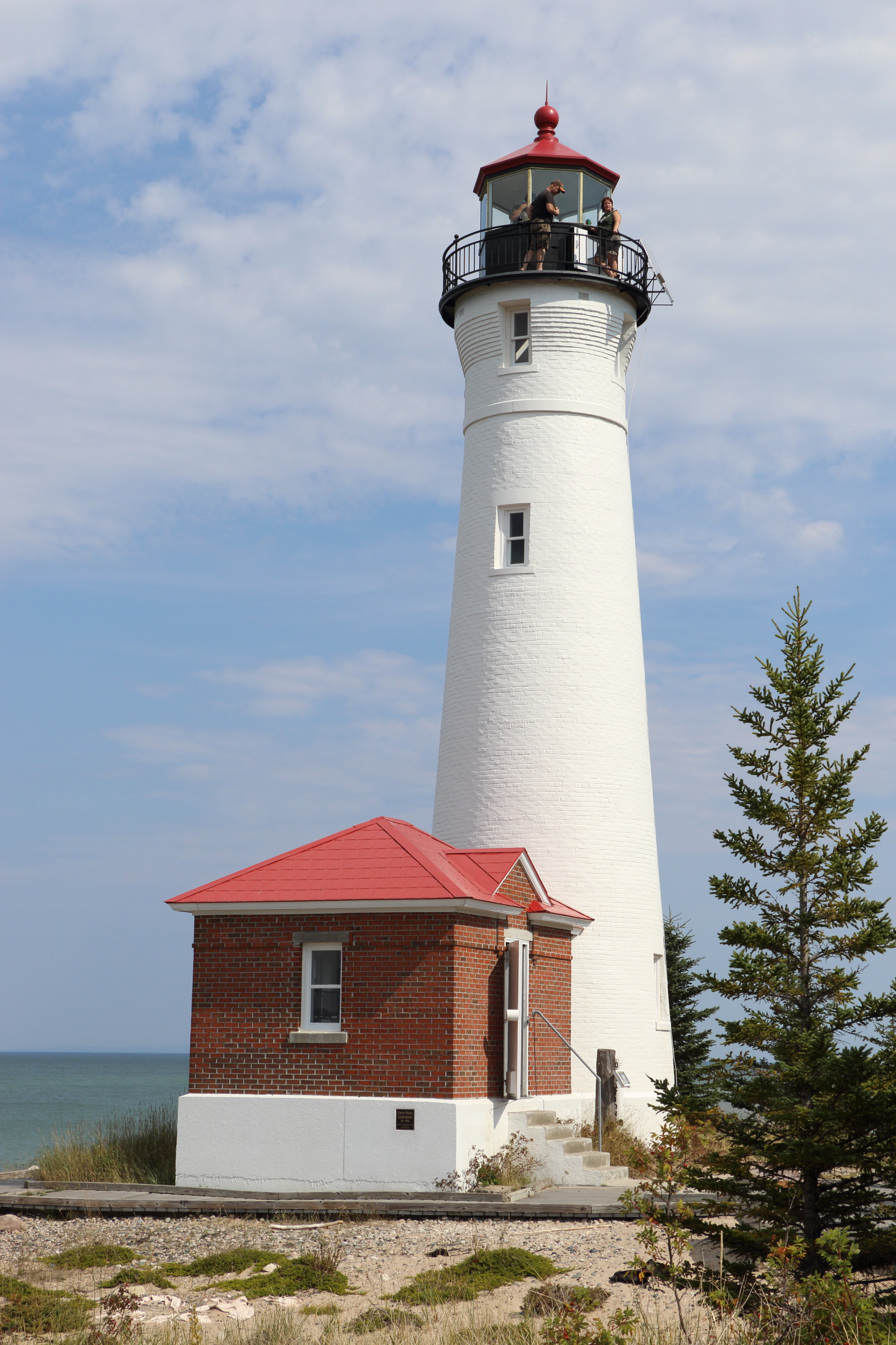 Michigan City Lighthouse and Pier - Yes, the Midwest has lighthouses