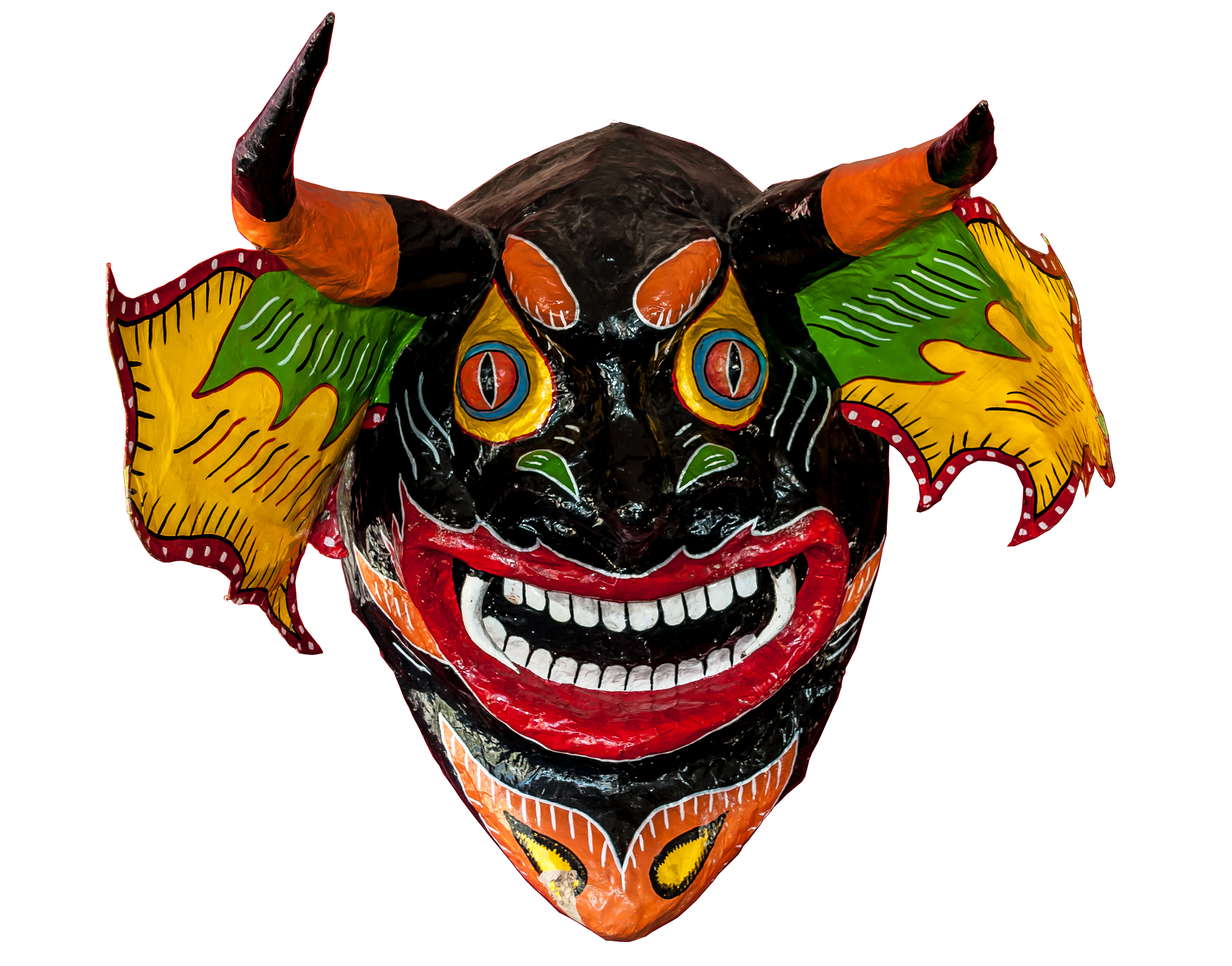 Descripci  N Dancing Devils Of Yare Mask From Venezuela