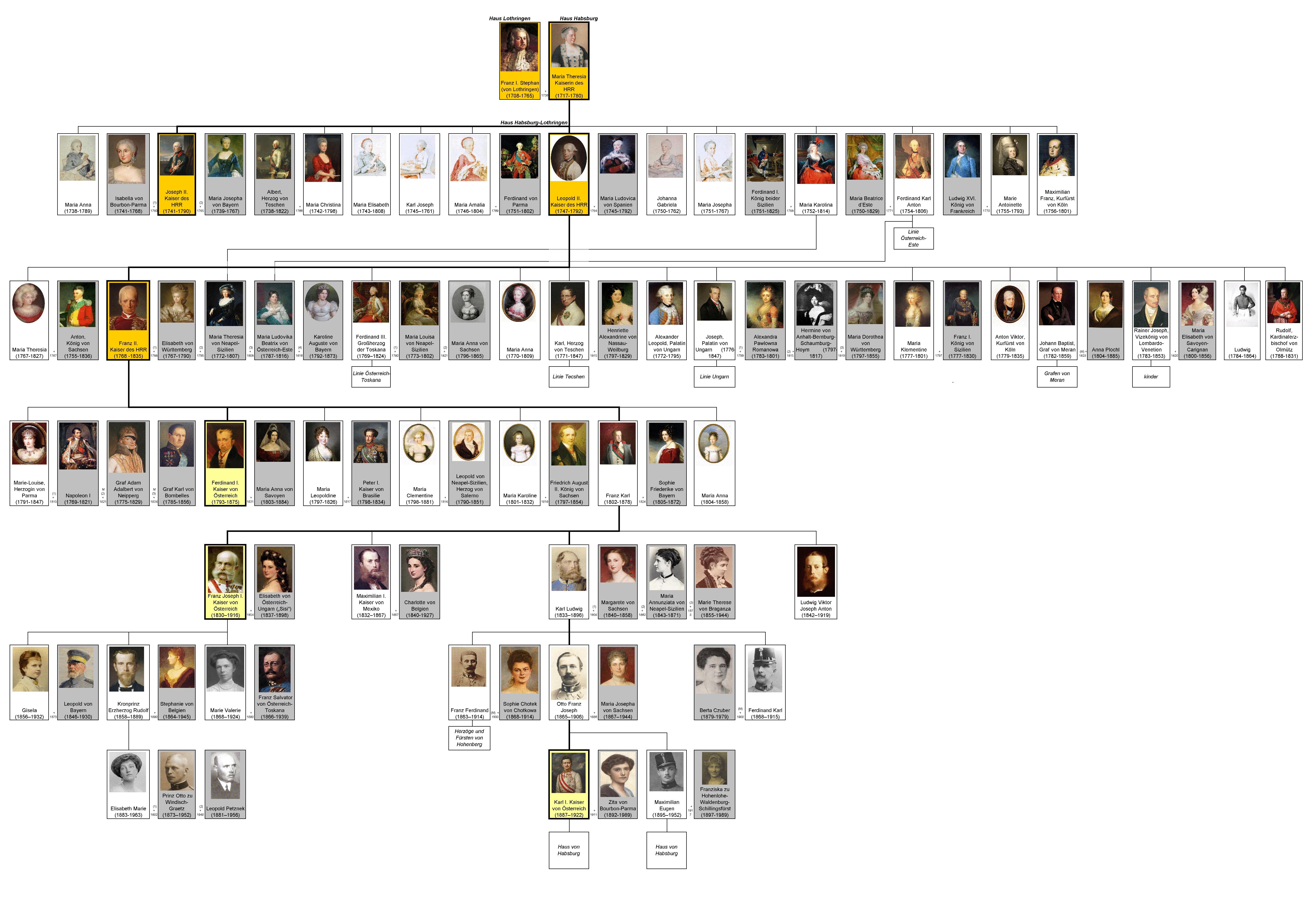 File Dinasty Habsburg Lothringen Family Tree By Shakko De Jpg Wikimedia Commons