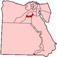 ベニ・スウェーフ県の県域