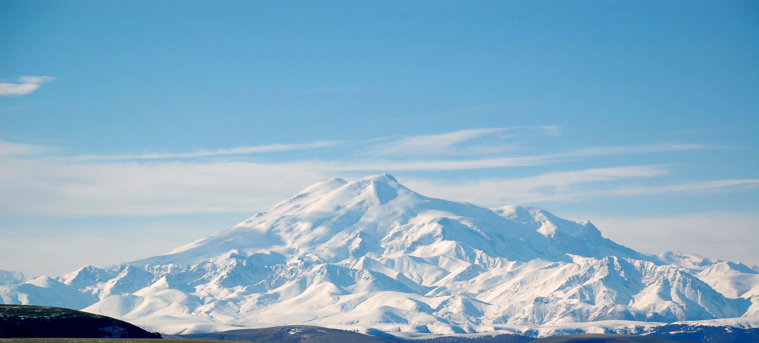 Montanhas na Rússia