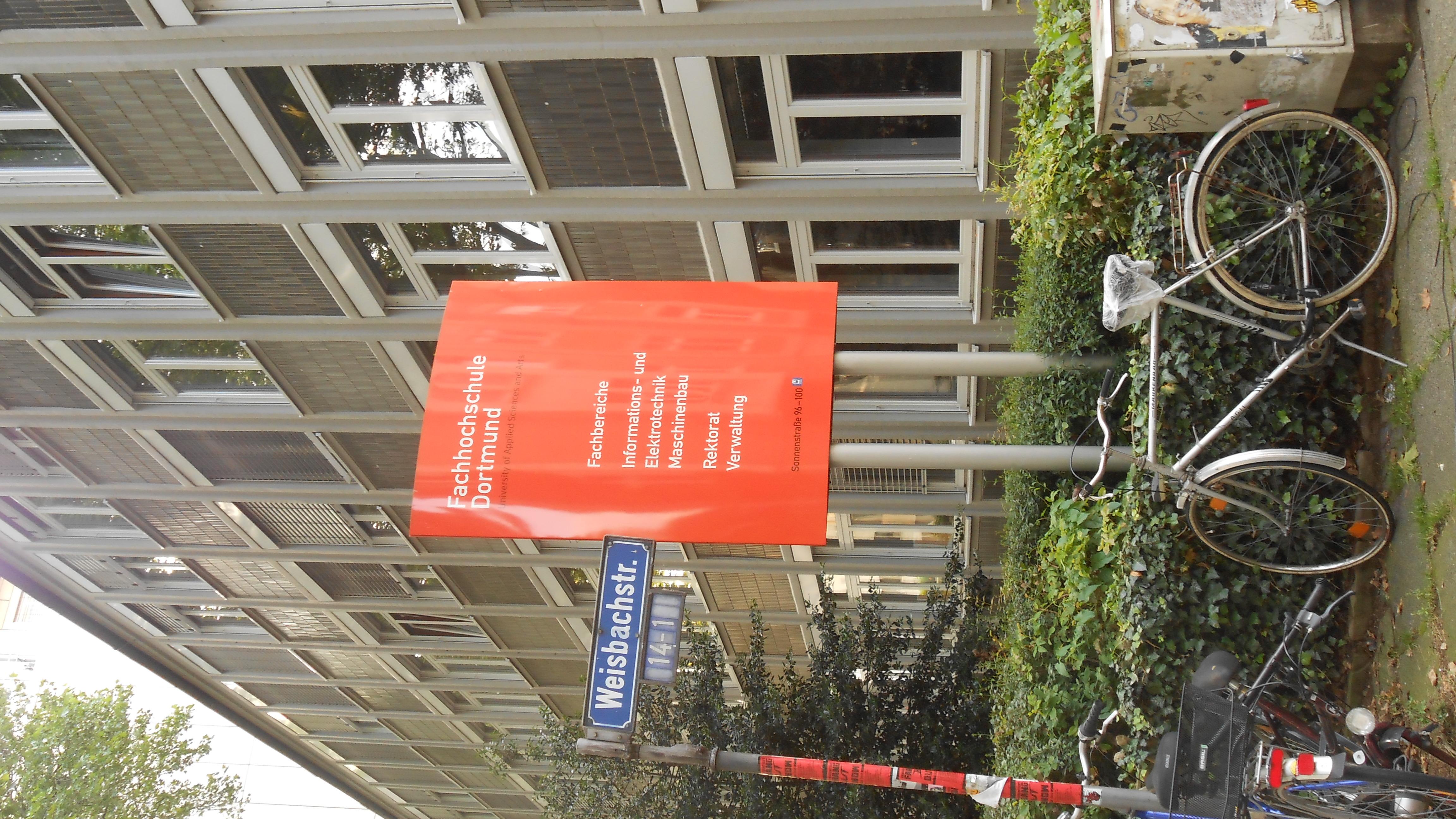 File Fachhochschule Dortmund Neuer Graben Jpg Wikimedia Commons