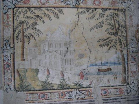 Ferme de Bel-Air peinture chateau1