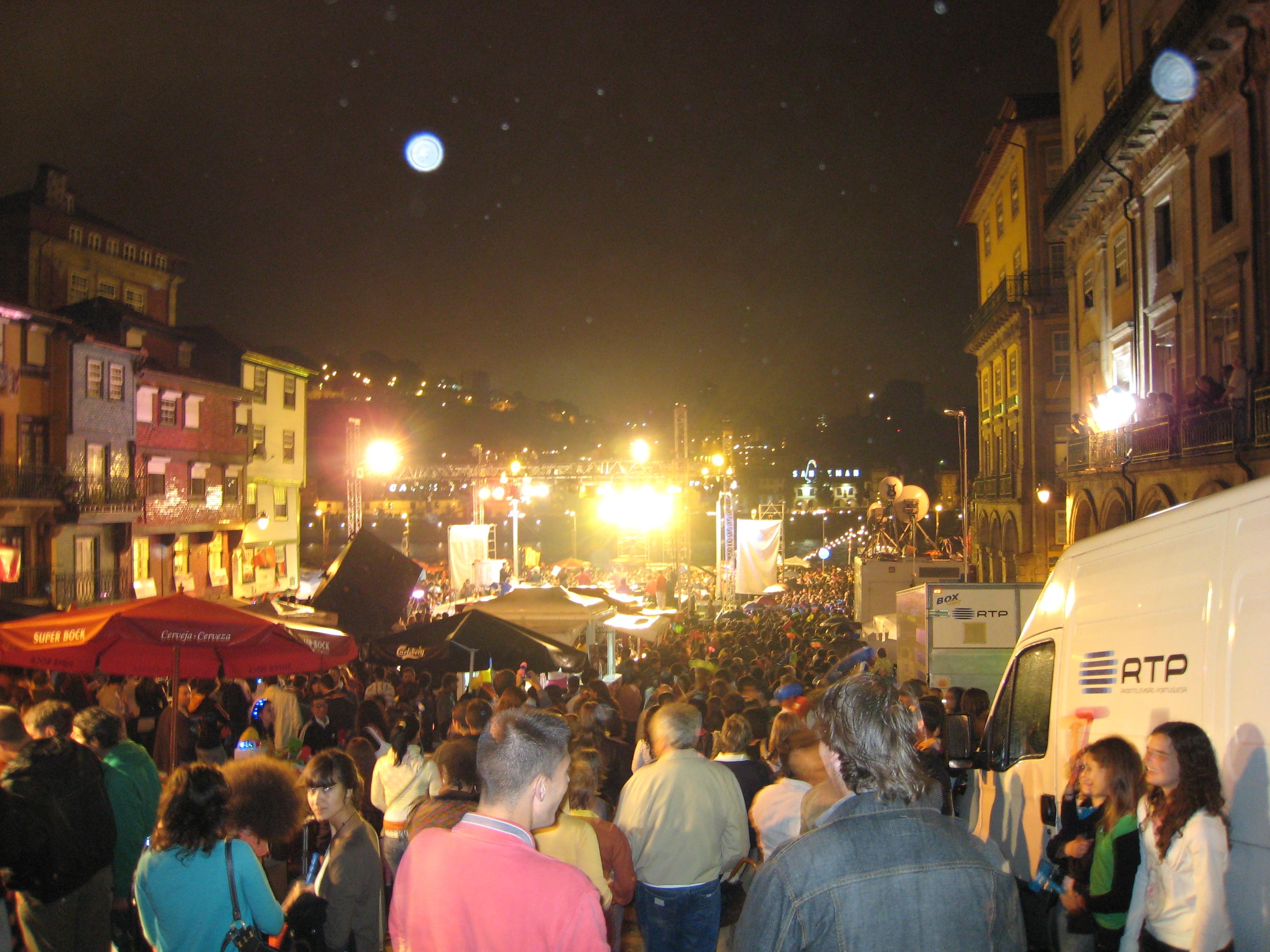 St. John's festival in Porto.