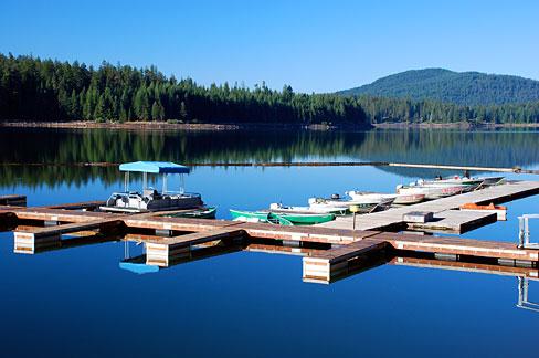 File fish lake dock jackson county oregon scenic images for Fish lake oregon