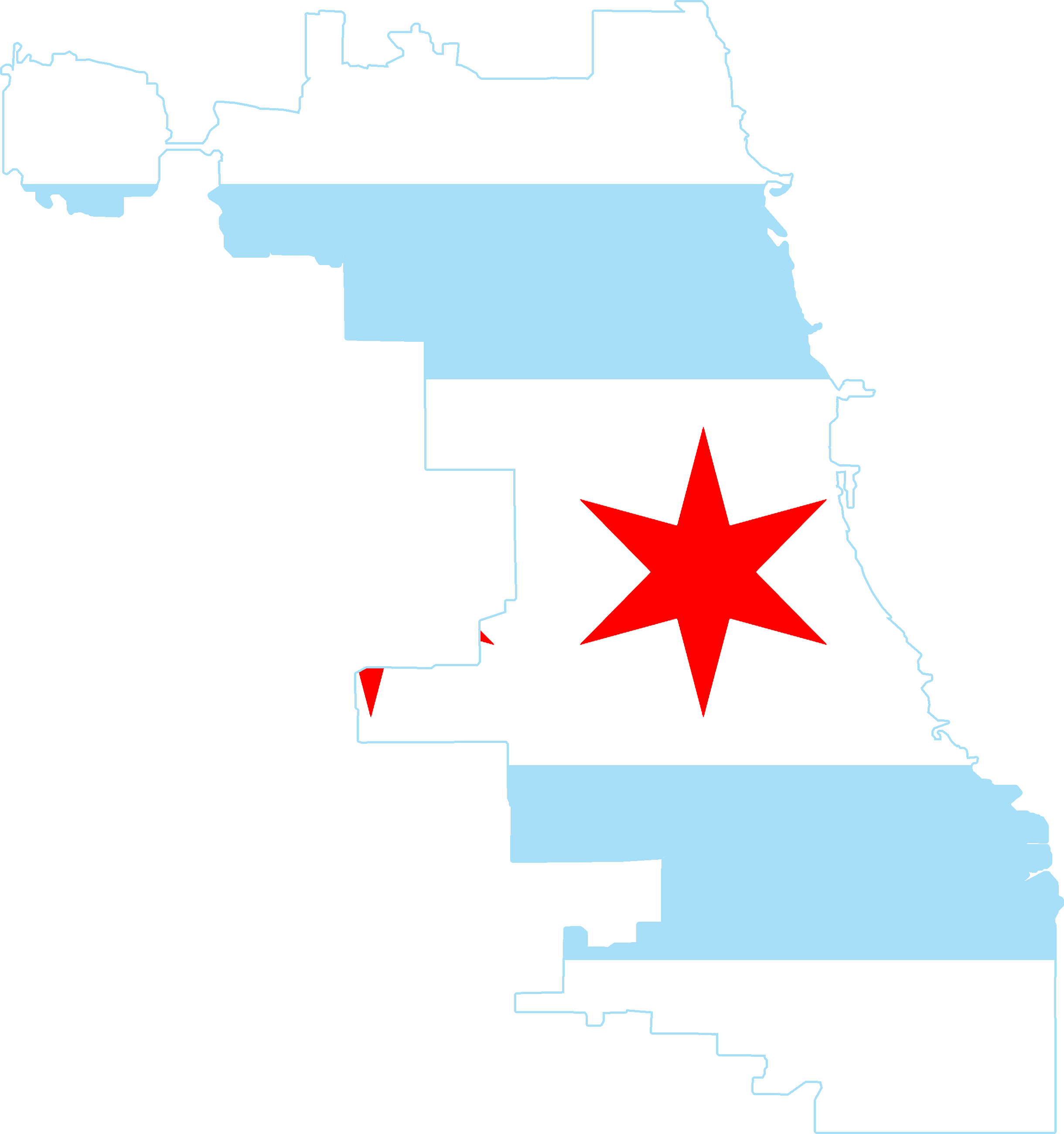 FileFlag map of Chicagopng Wikimedia Commons