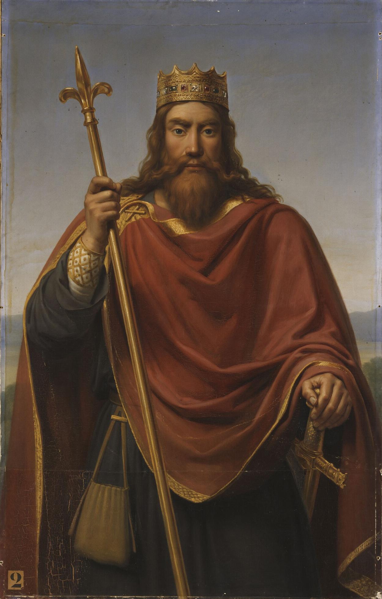 François-Louis Dejuinne (1786-1844) - Clovis roi des Francs (465-511).jpg