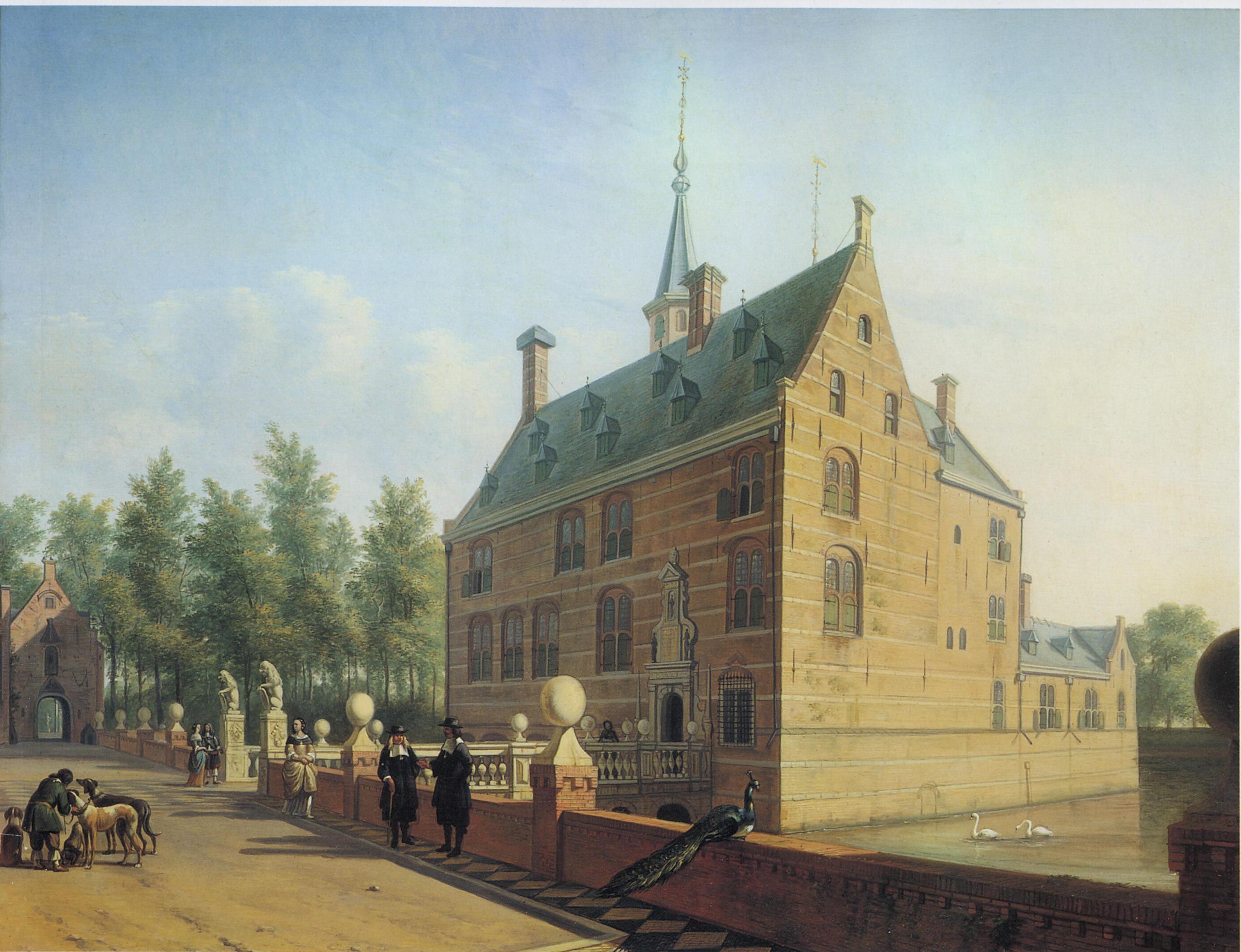 Gerrit Adriansz Berckheyde - Huis te Heemstede
