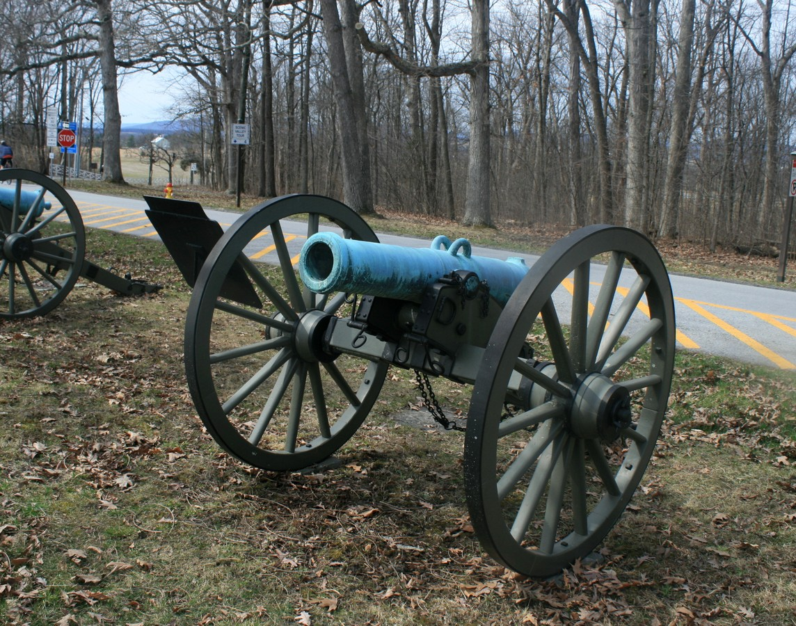 File:Gettysburg, 24-pounder Howitzers jpg - Wikimedia Commons