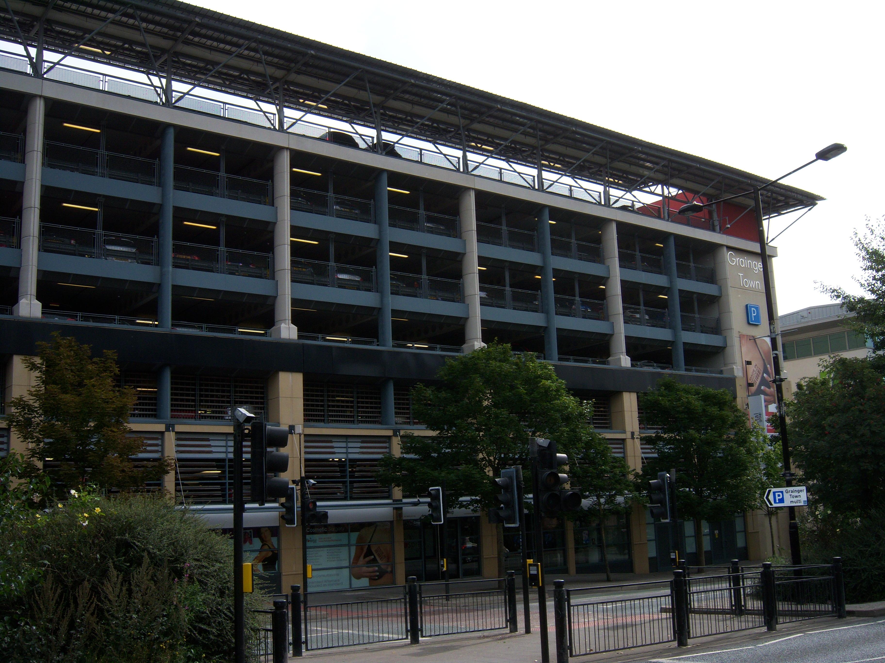 File:Grainger Town Car Park, Newcastle Upon Tyne, 4 September 2013