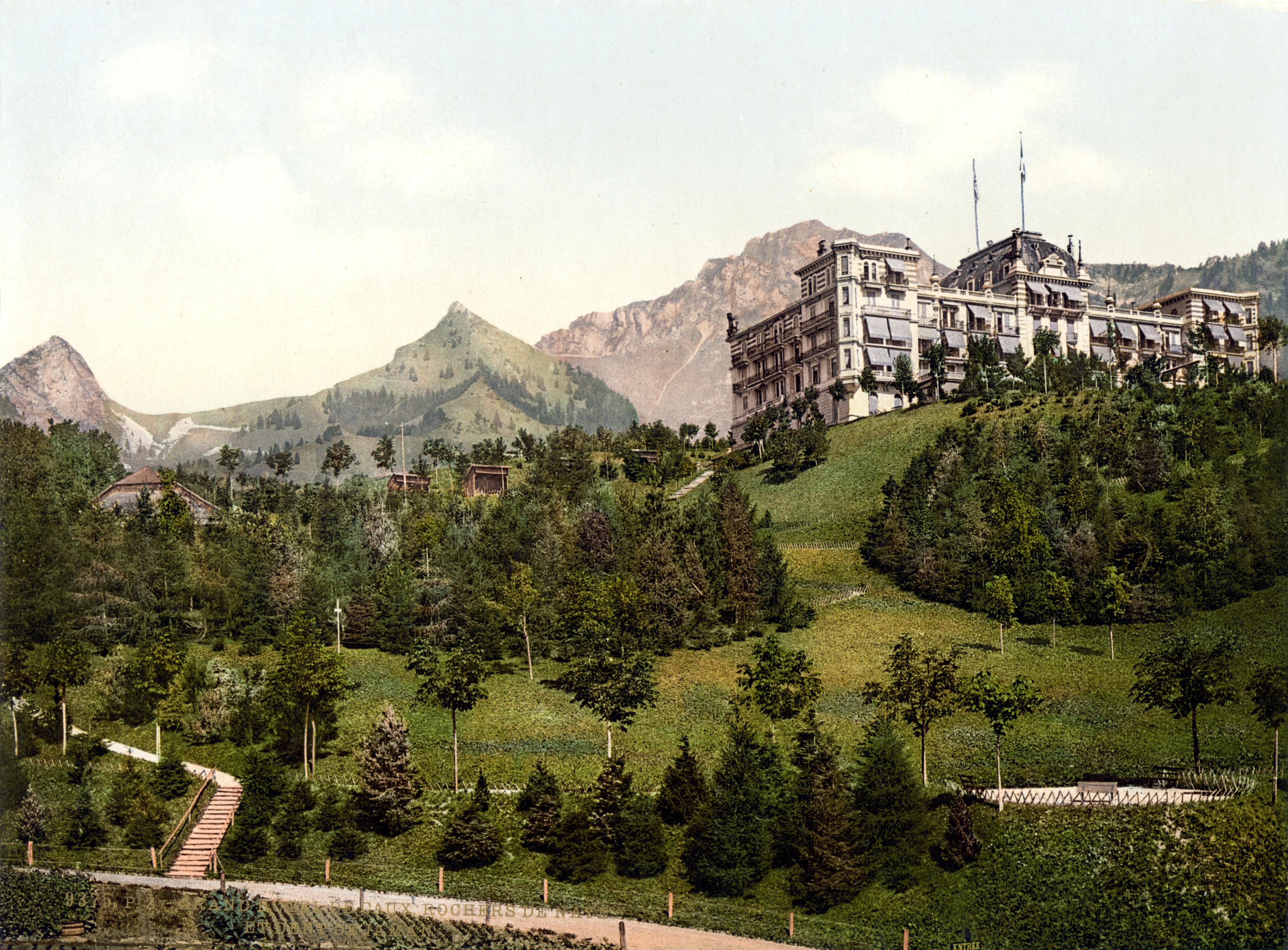 Grand Hotel Montreux Deep Purple