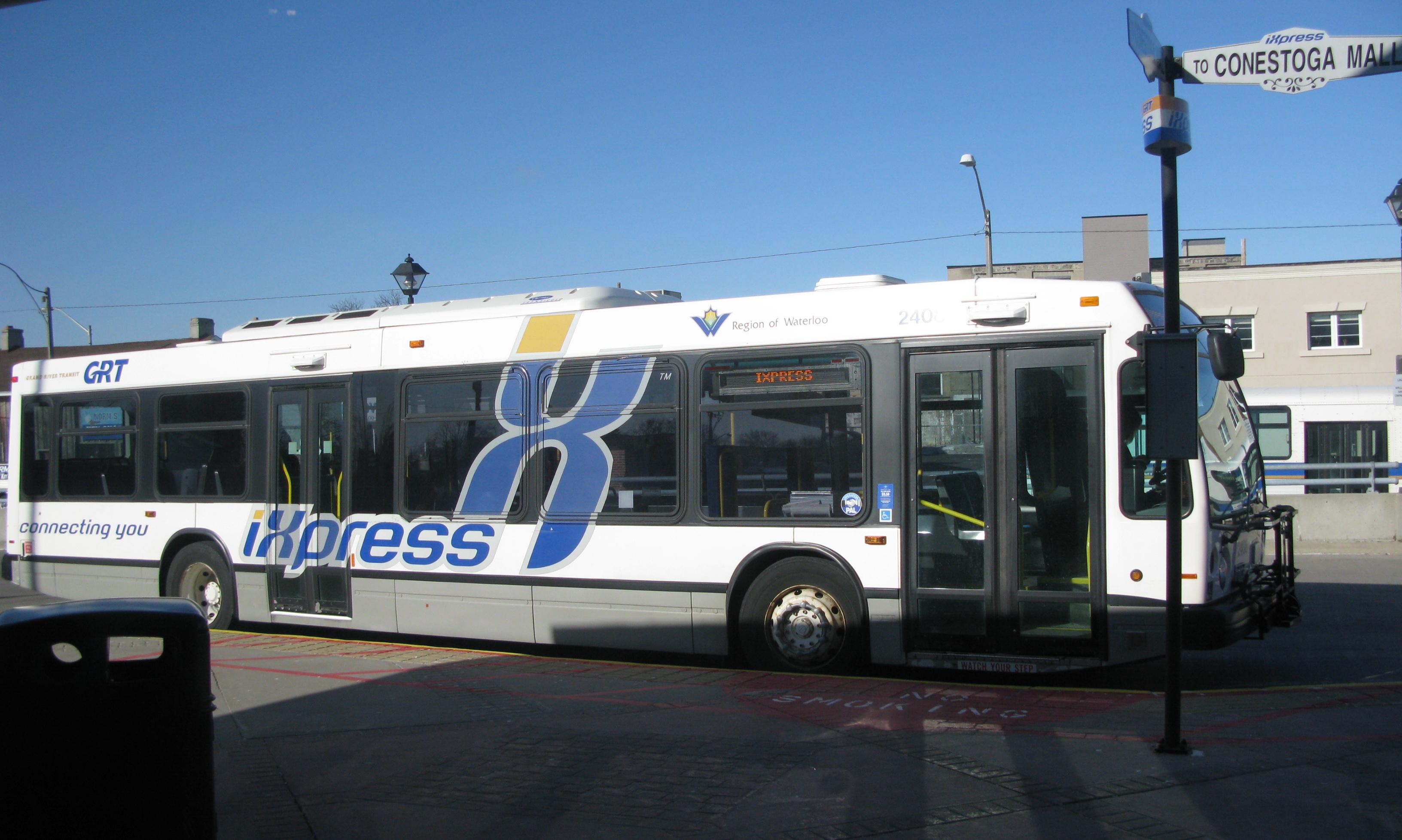 Kitchener Ontario Bus Driver Saves Police