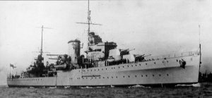 HMS <i>Ajax</i> (22) ship that took part in WWII