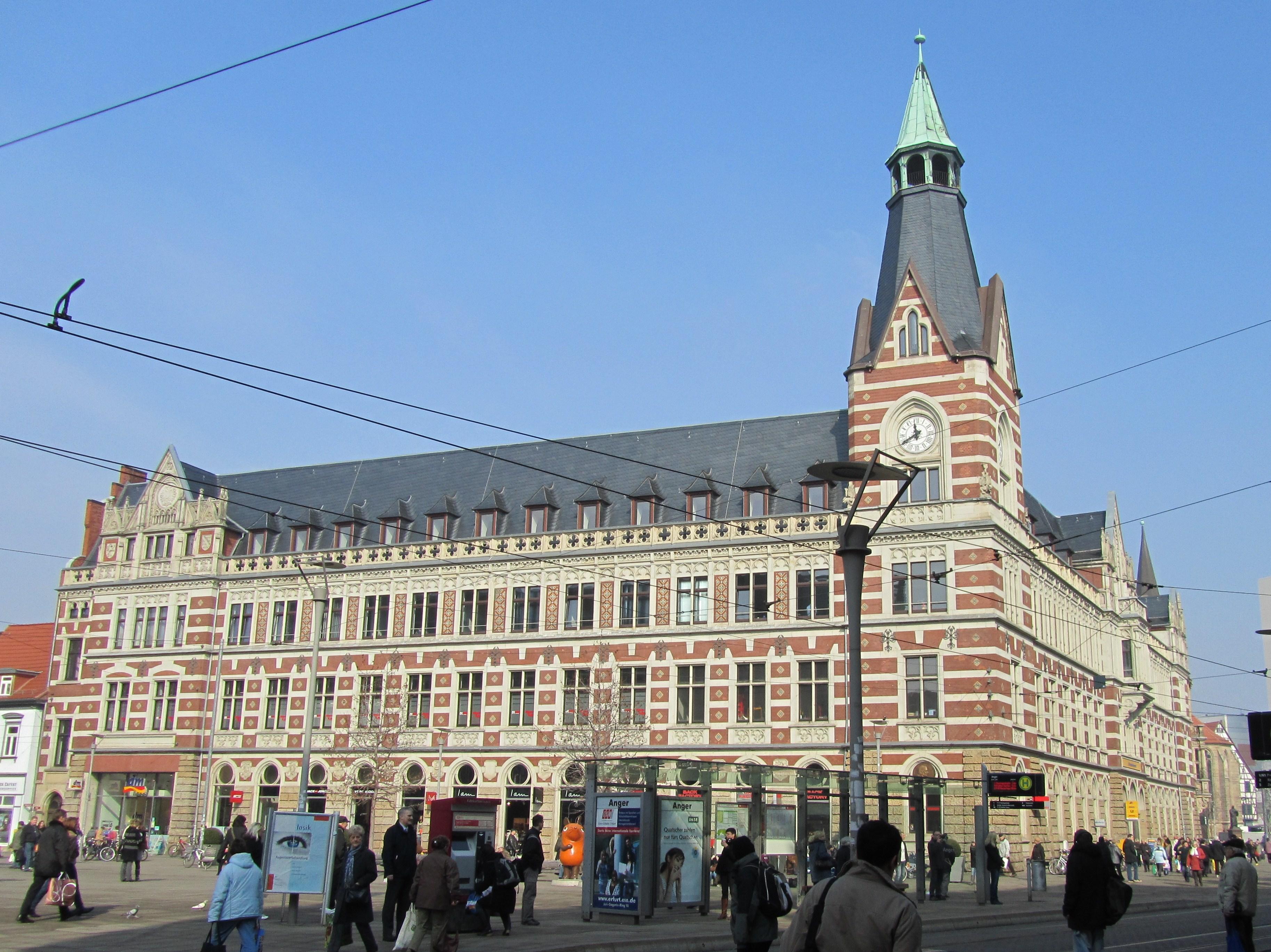File:Hauptpost Erfurt2.JPG - Wikimedia Commons