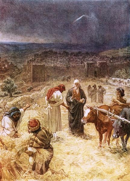 Hole King David Threshing