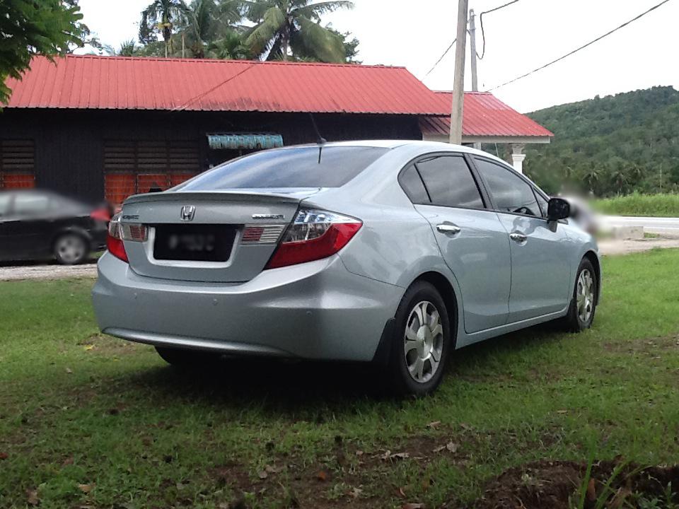 Description Honda Civic Hybrid (Malaysia) rear.jpg