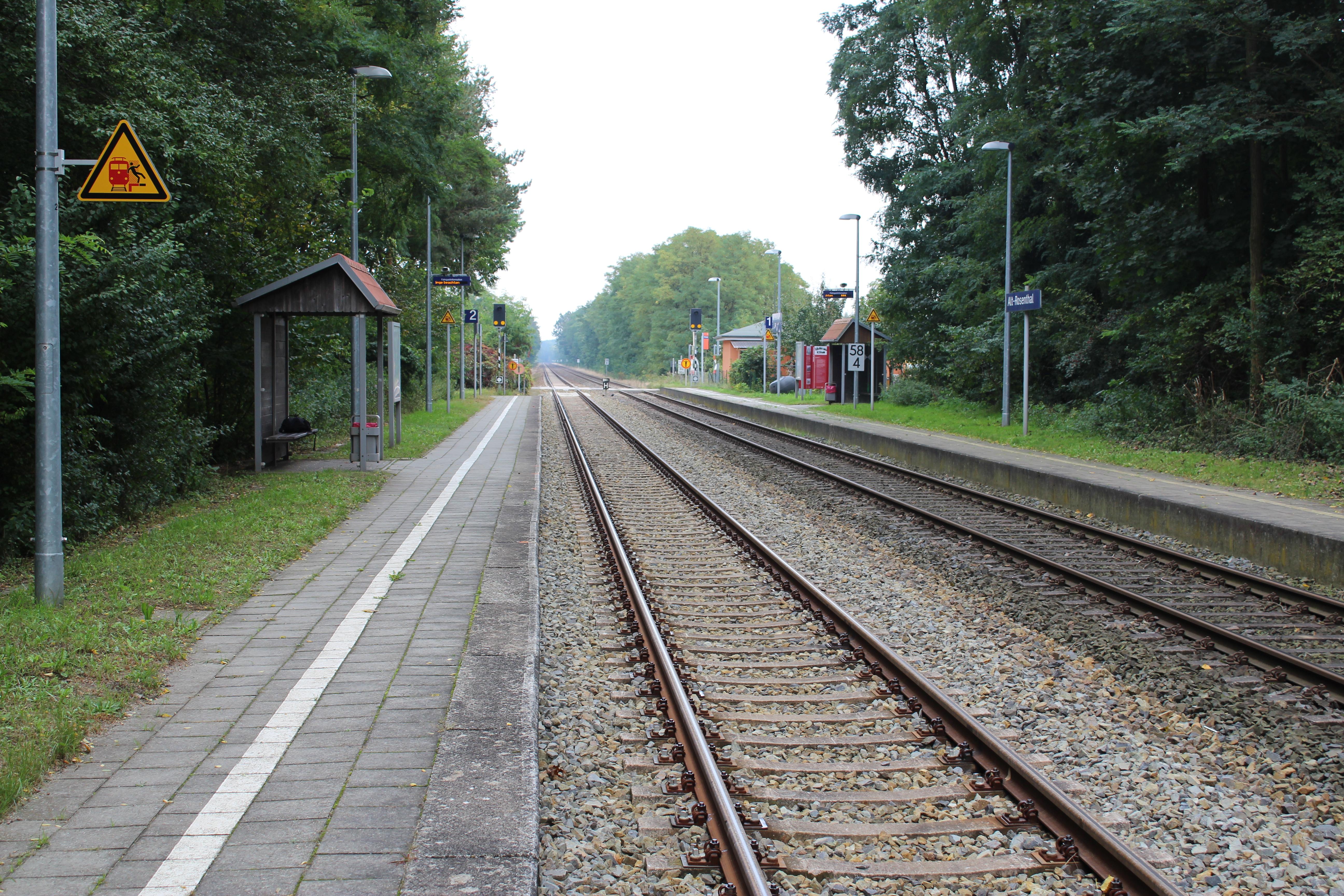 Alt Rosenthal station - Wikipedia