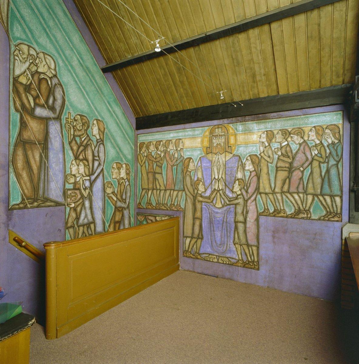 File interieur overzicht muurschilderingen leiden for Interieur leiden