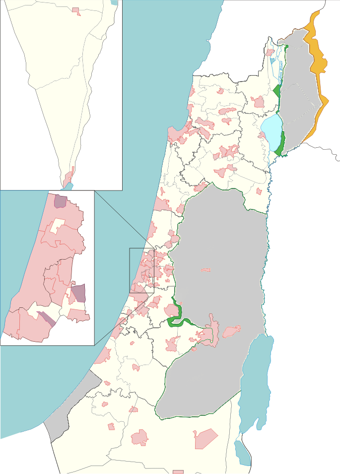 List of cities in Israel - Wikipedia