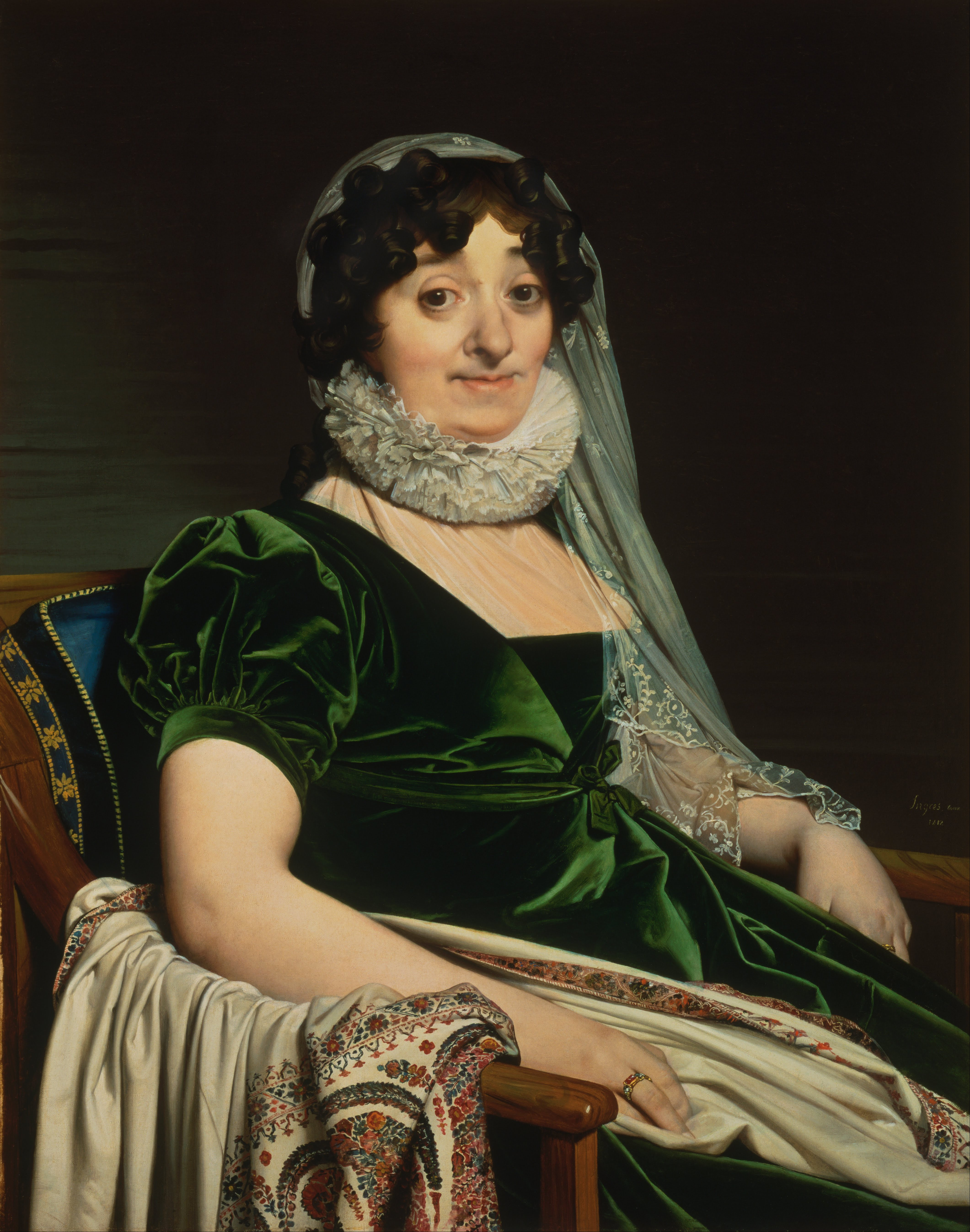 File:Jean-Auguste-Dominique Ingres, French - Portrait of ...