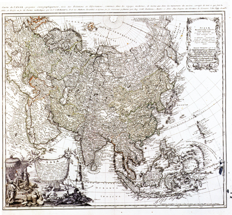 ''Map of Asia'', '''Johann Matthias Hase''', [[National Palace Museum